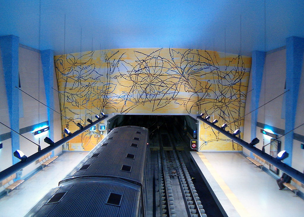 Amadora Este metro station
