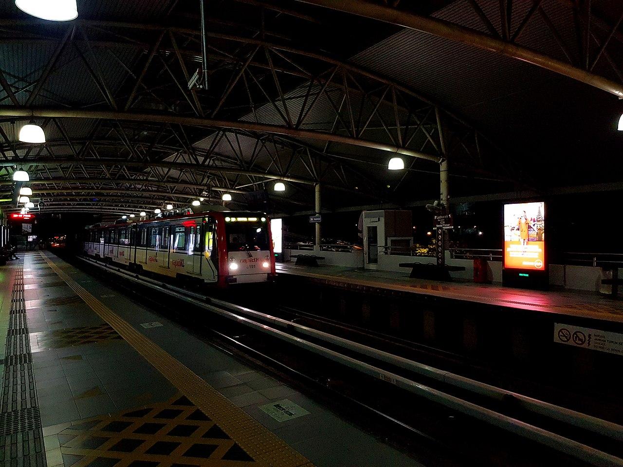 Bandaraya LRT station
