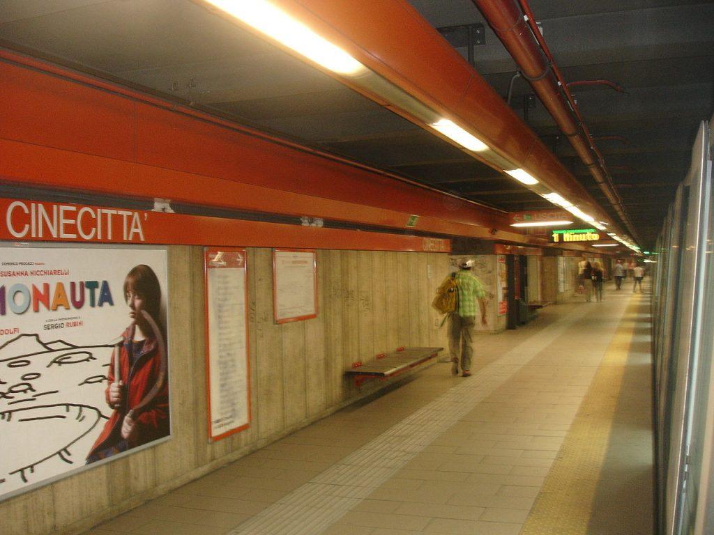 Cinecittà station