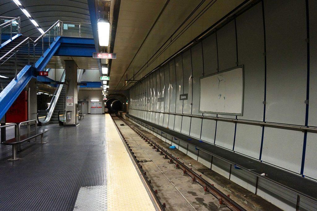 Darsena station