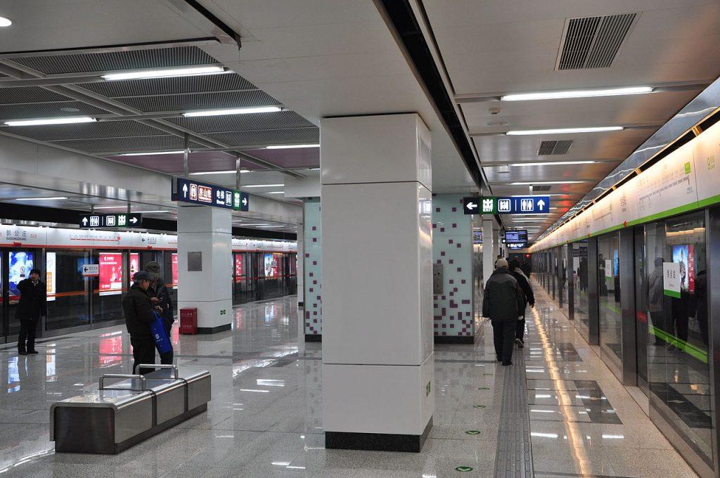 Guogongzhuang station