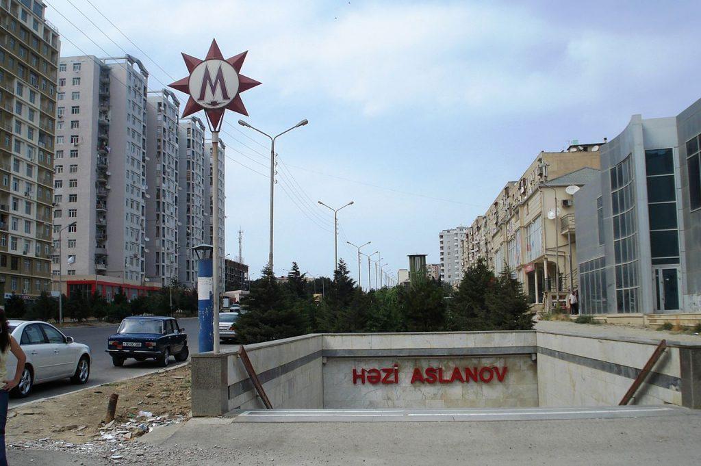 Hazi Aslanov metro station