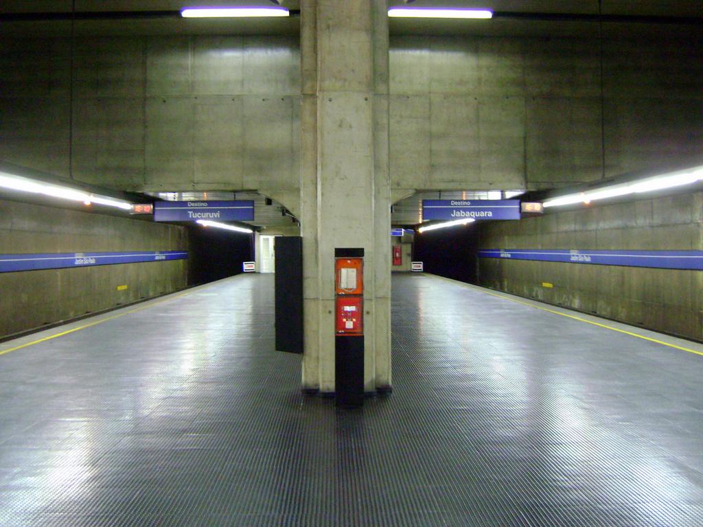 Jardim São Paulo-Ayrton Senna metro station