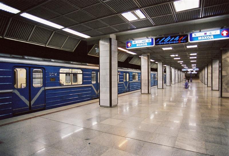Lyulin metro station