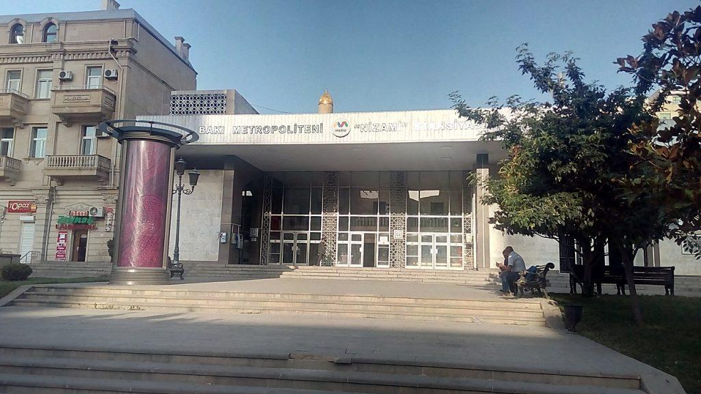 Nizami Gəncəvi metro station