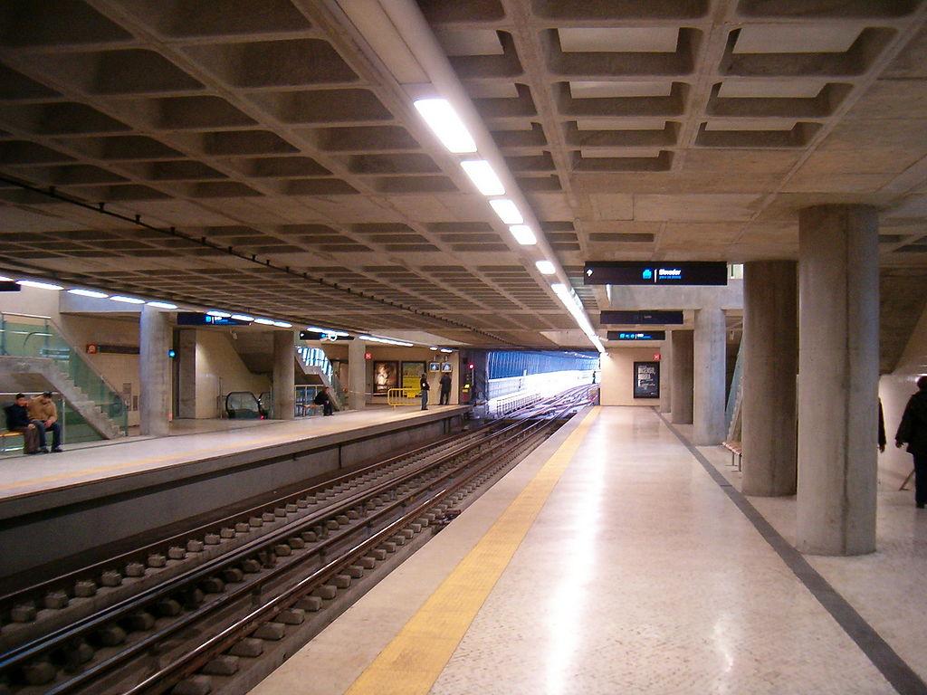 Odivelas metro station