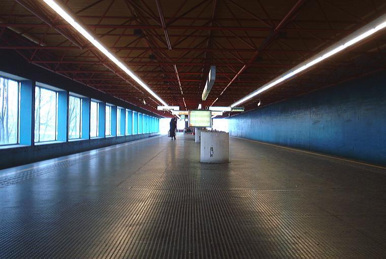Ossegem metro station