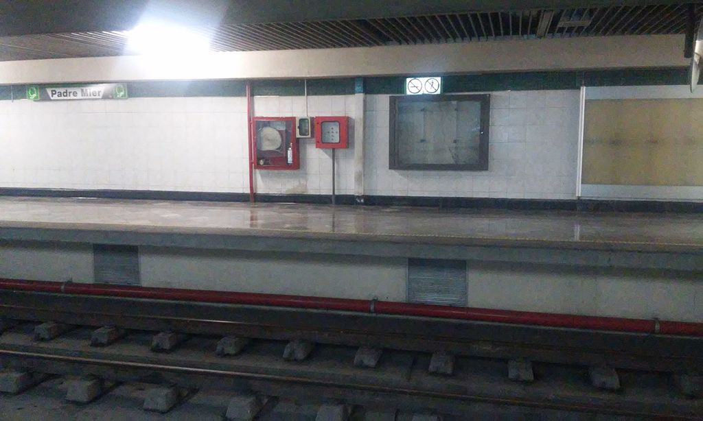 Padre Mier metro station