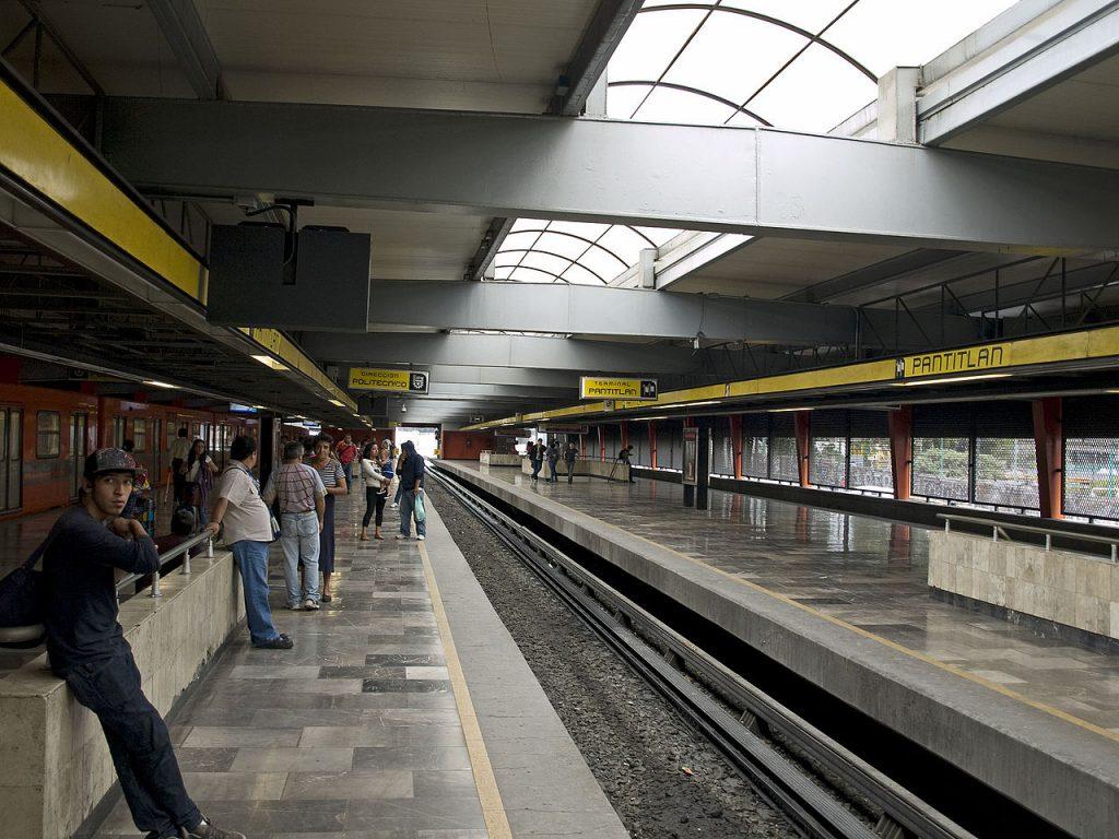 Pantitlán metro station