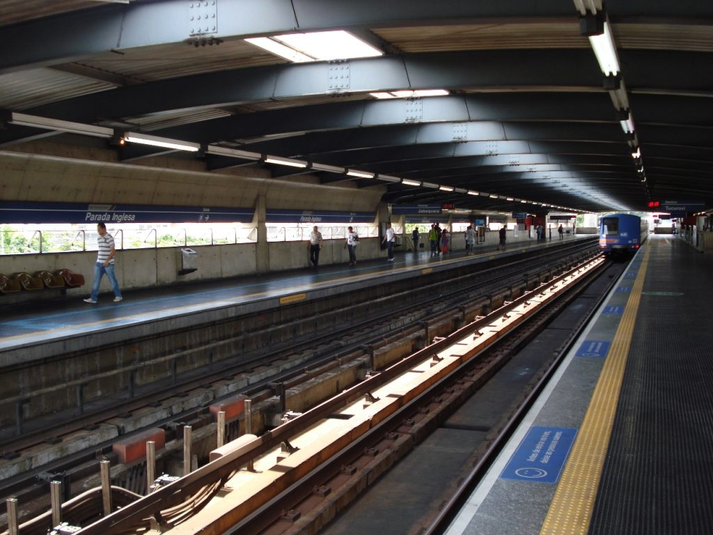 Parada Inglesa metro station