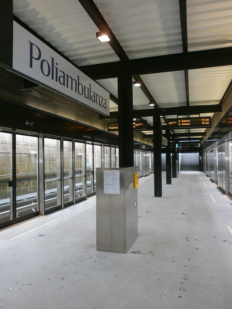 Poliambulanza station