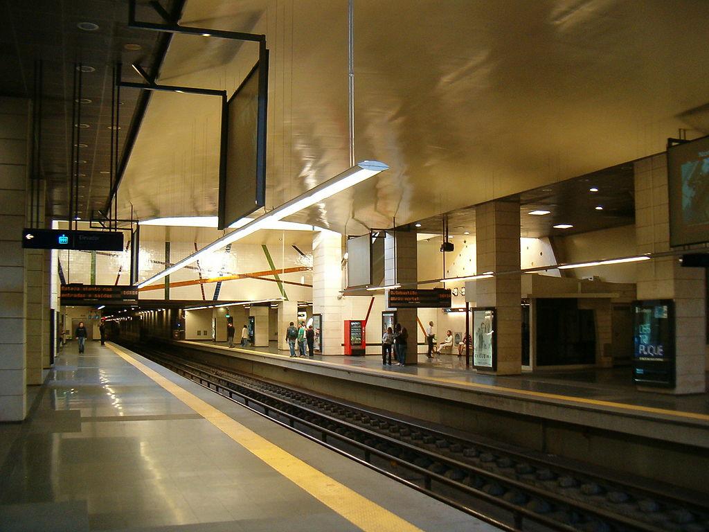 Pontinha metro station