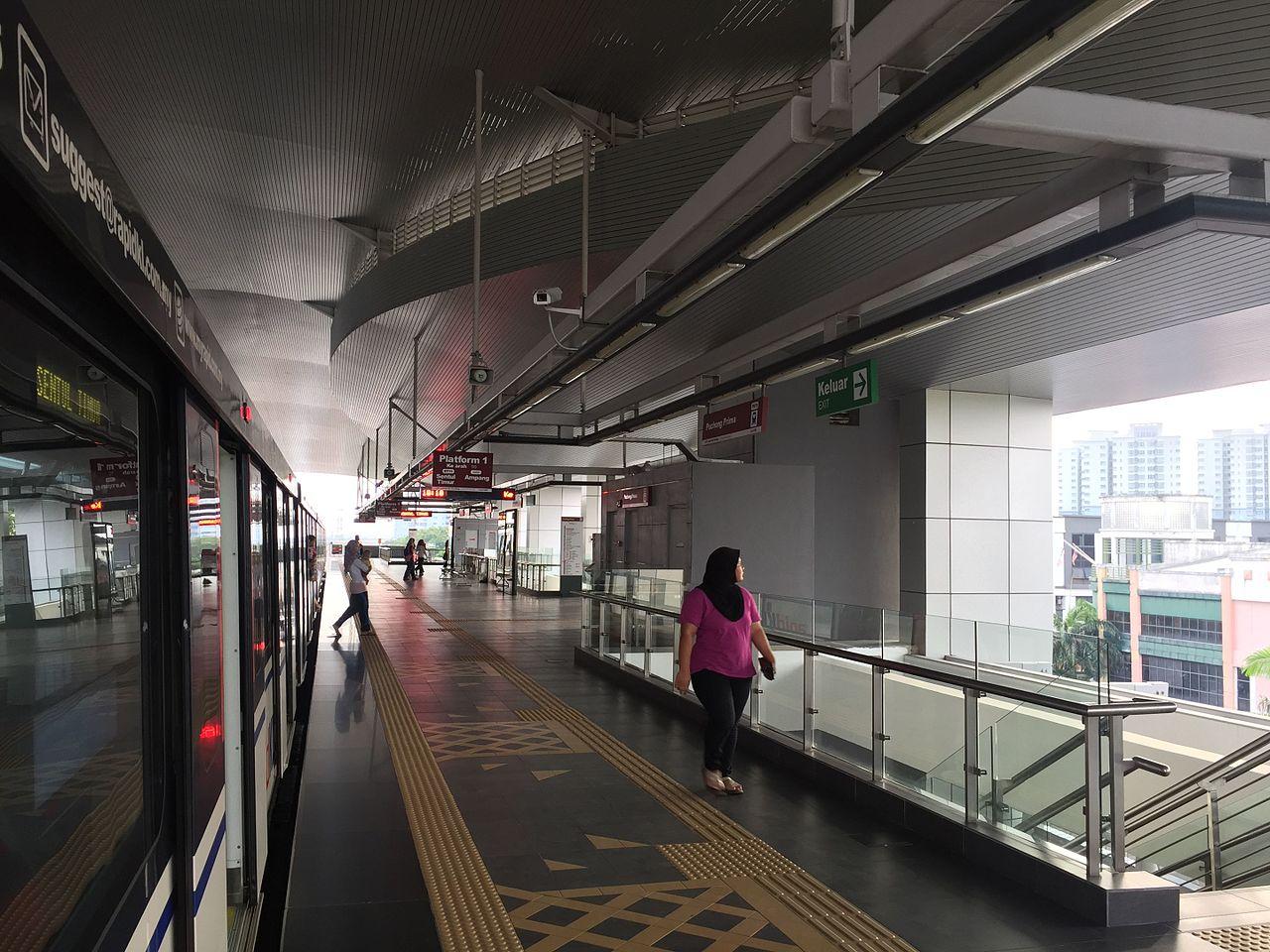 Puchong Prima LRT station