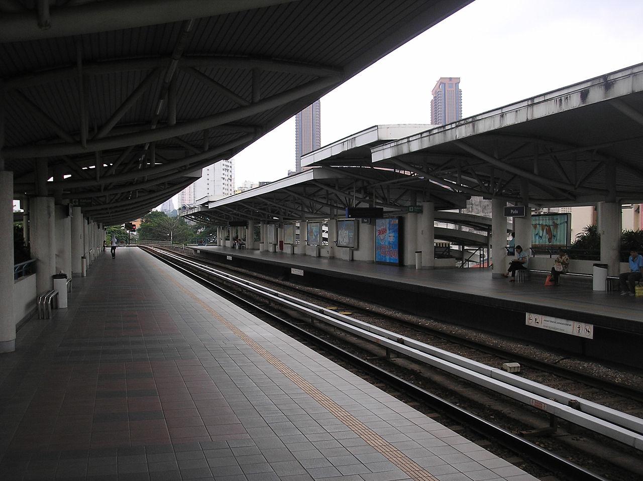 Pudu LRT station