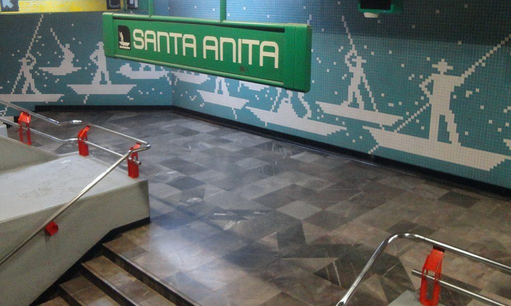 Santa Anita metro station