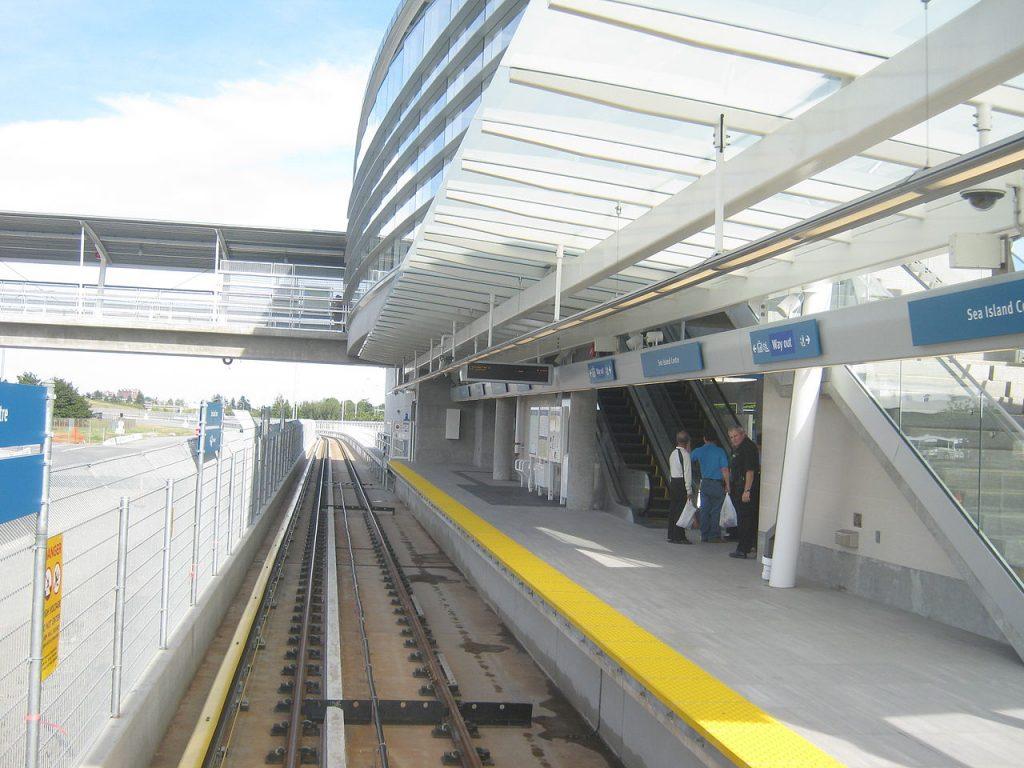 Sea Island Centre station