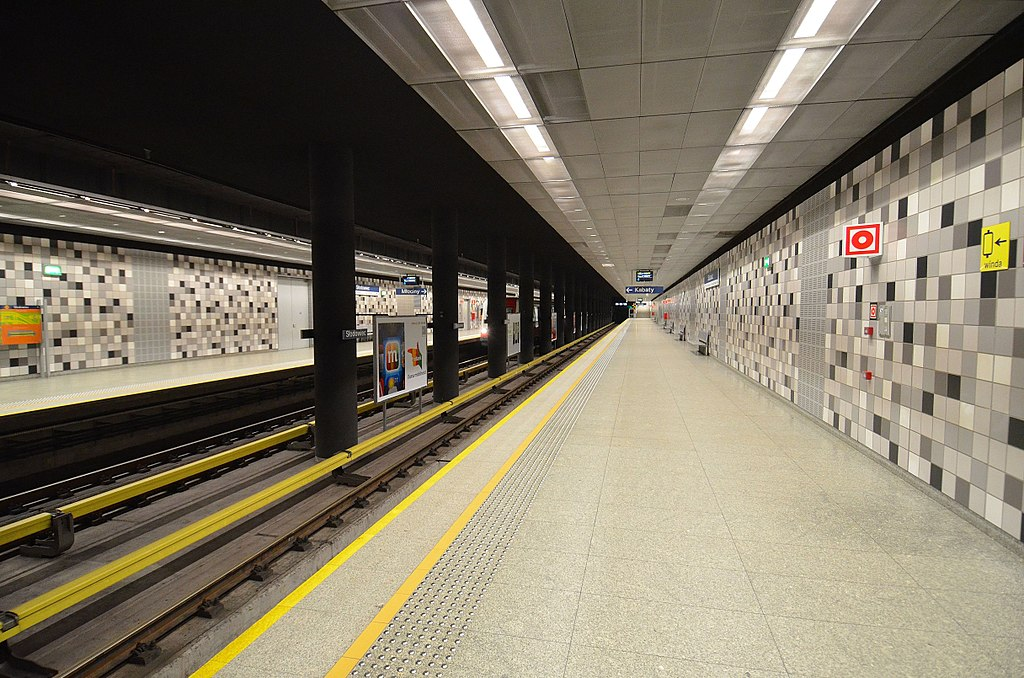 Słodowiec metro station
