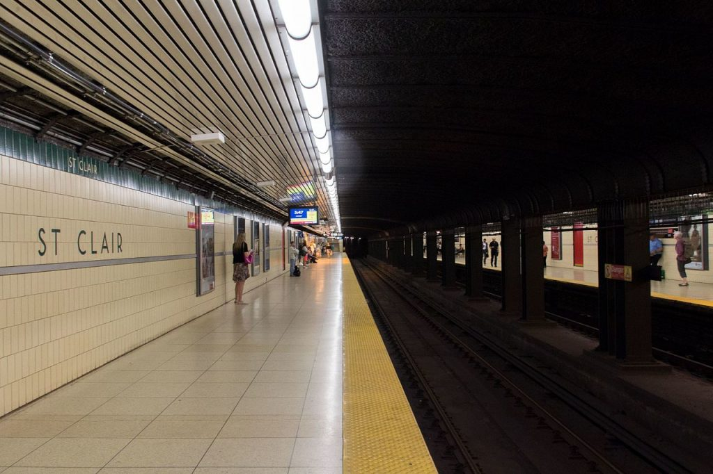 St. Clair station