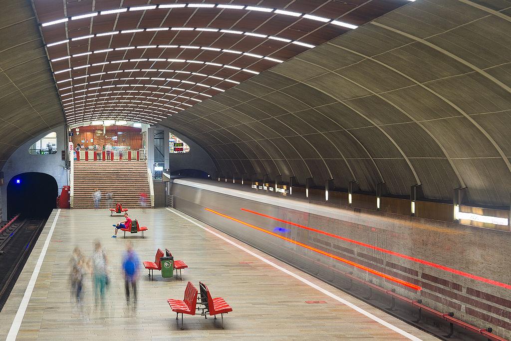 Titan metro station