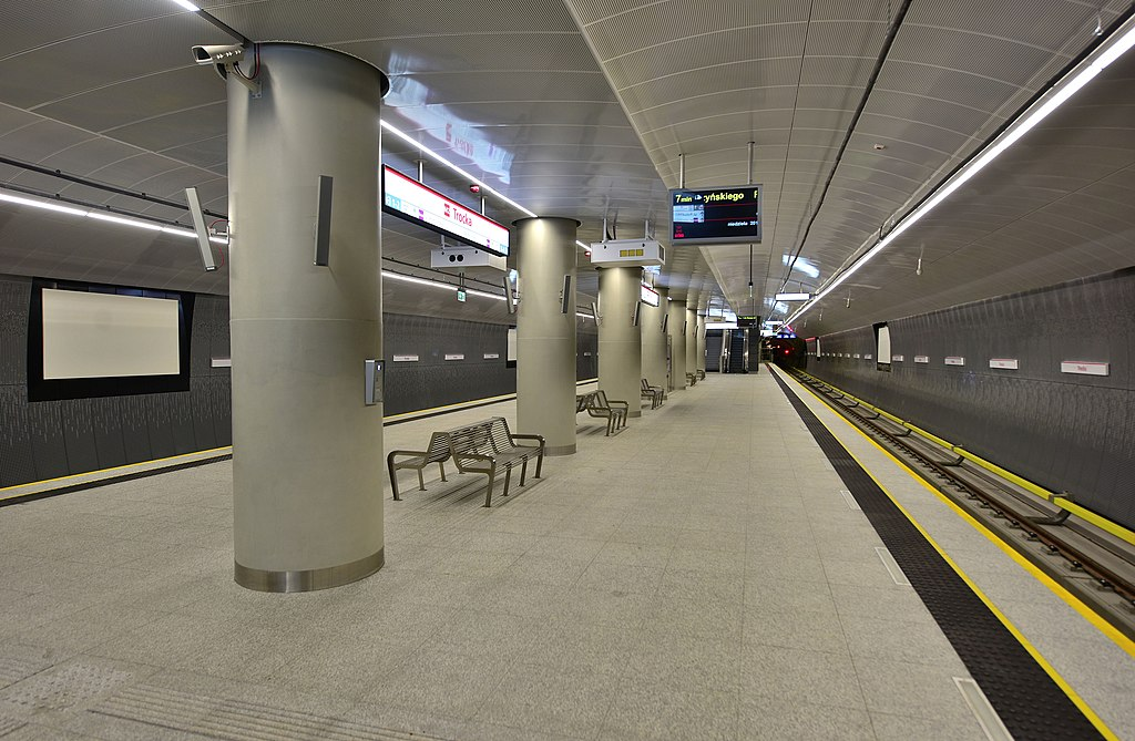 Trocka metro station