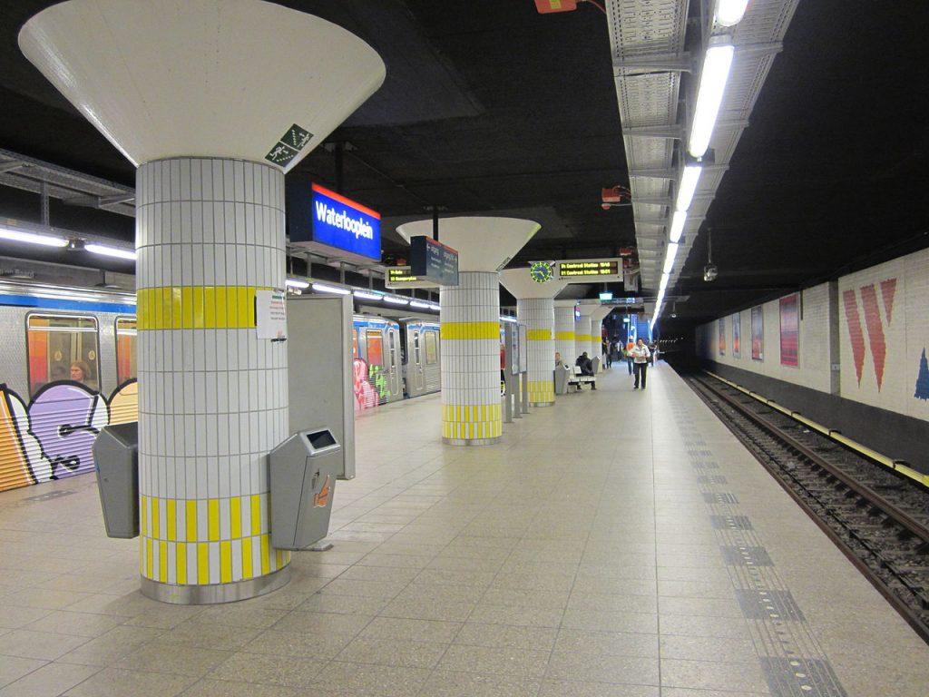 Waterlooplein station