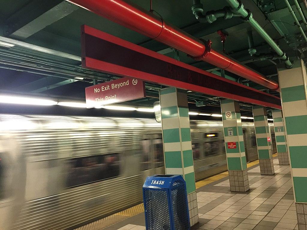 8th Street station