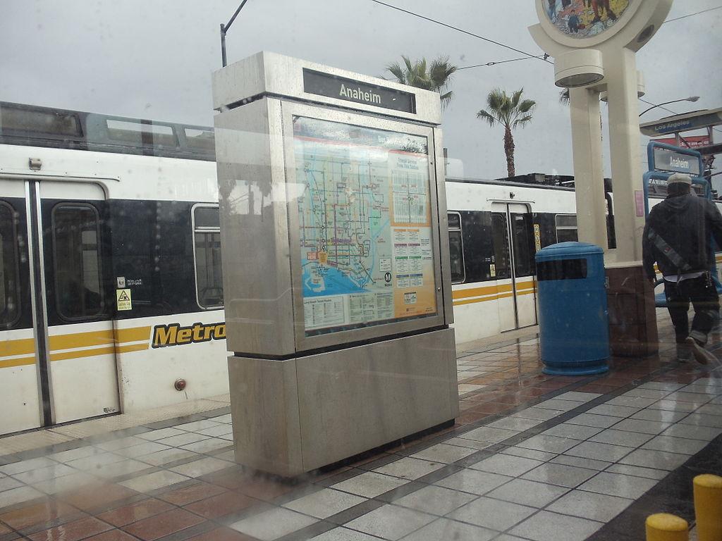 Anaheim Street station