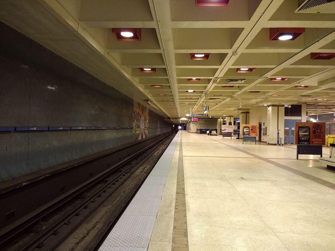 Ashby station