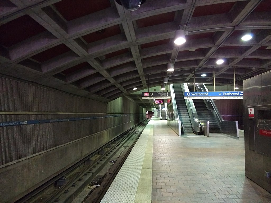 Dome/GWCC/Philips Arena/CNN Center station