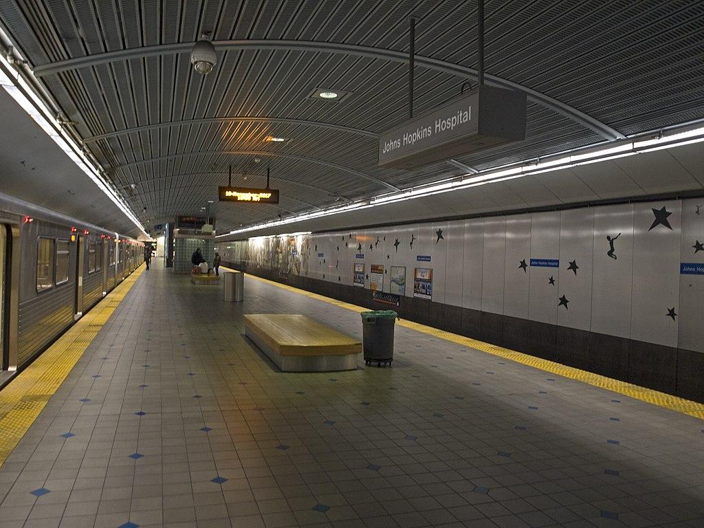 Johns Hopkins Hospital station