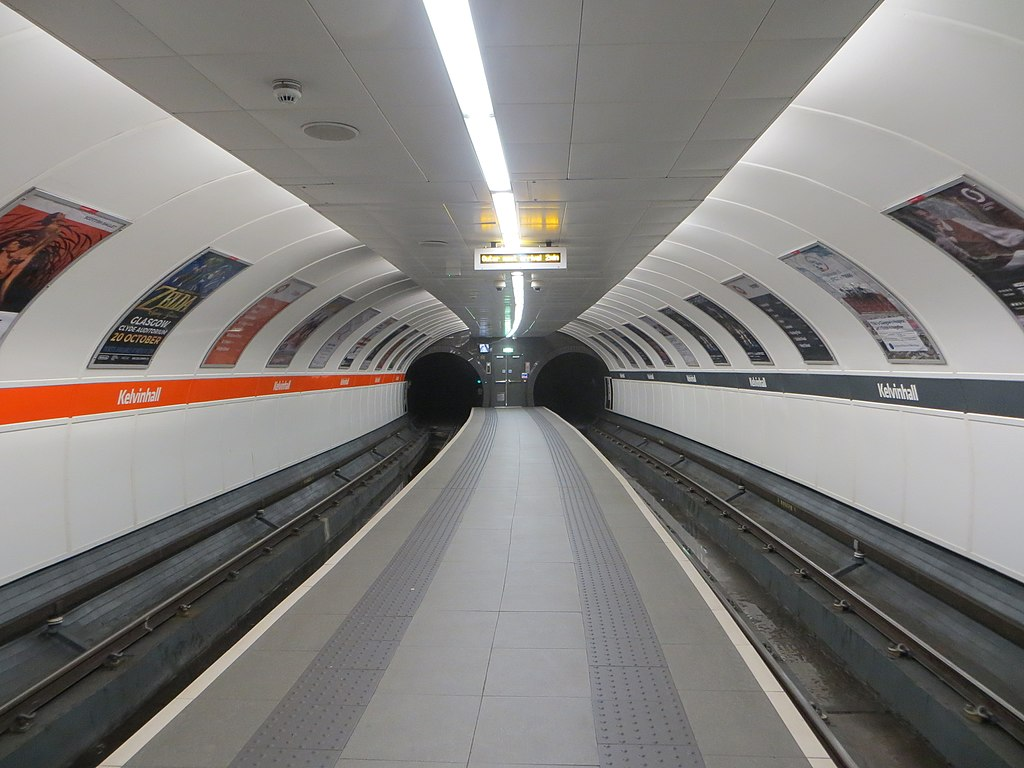 Kelvinhall subway station