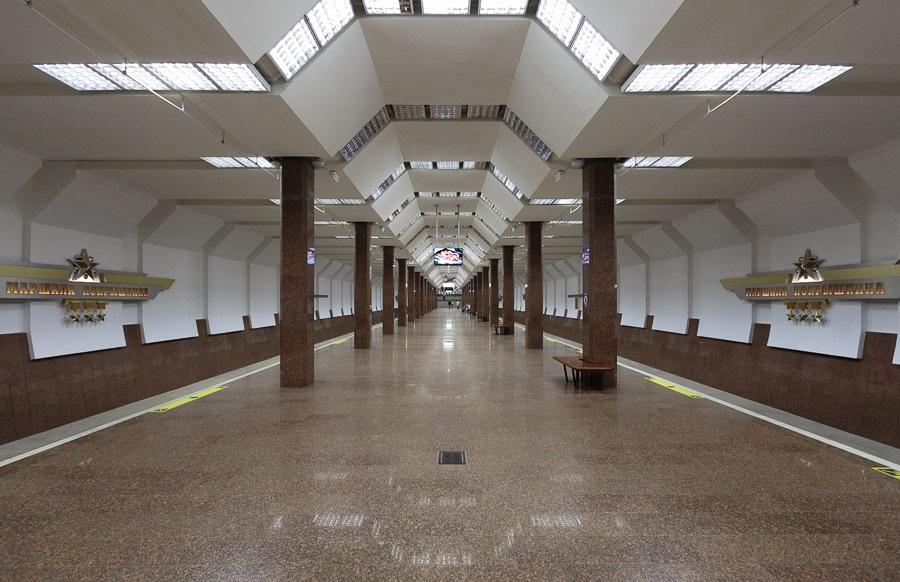 Marshala Pokryshkina station