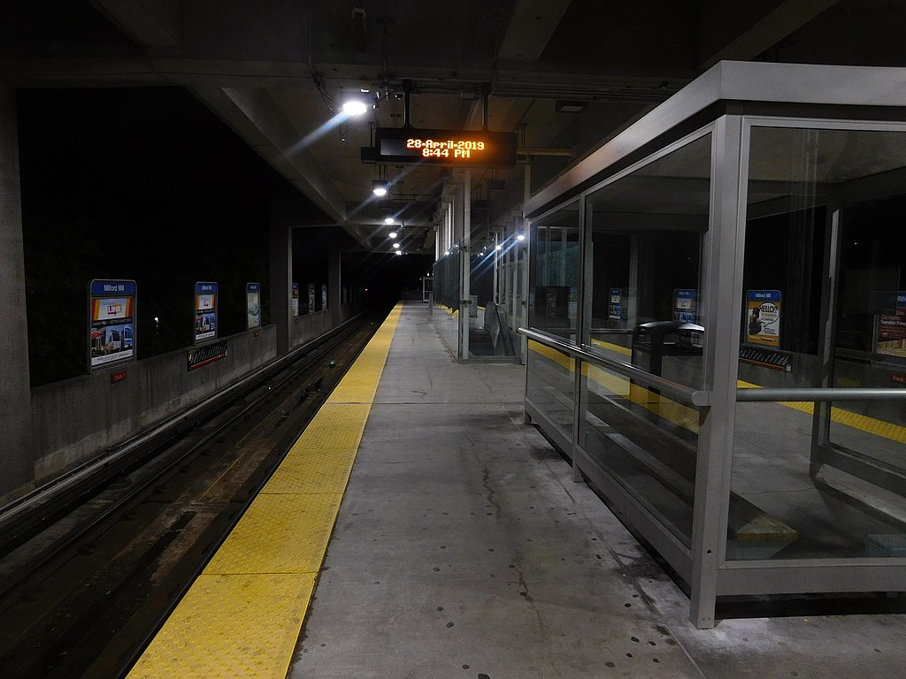 Milford Mill station