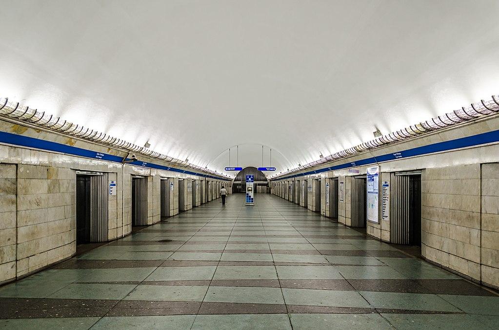Park Pobedy station
