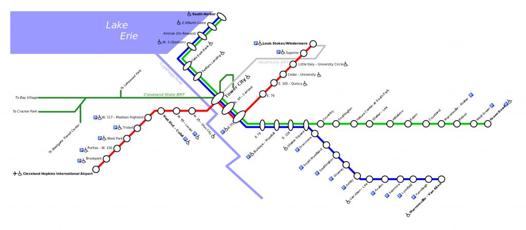 Red Line (Rapid transit, Cleveland)