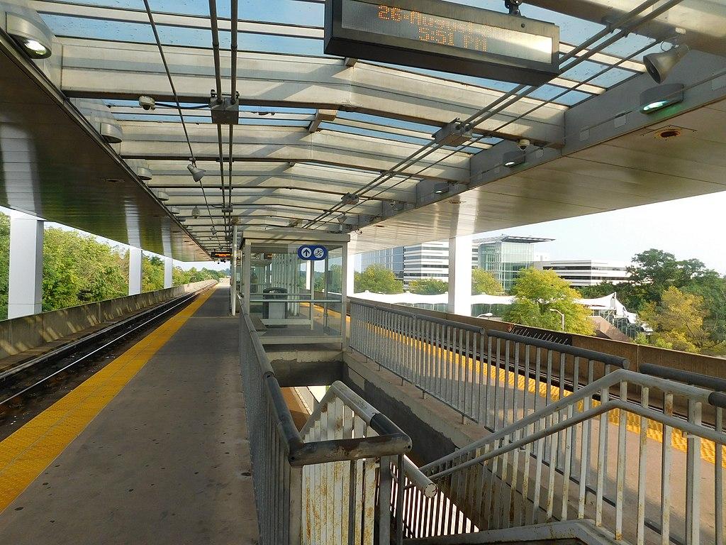 Reisterstown Plaza station