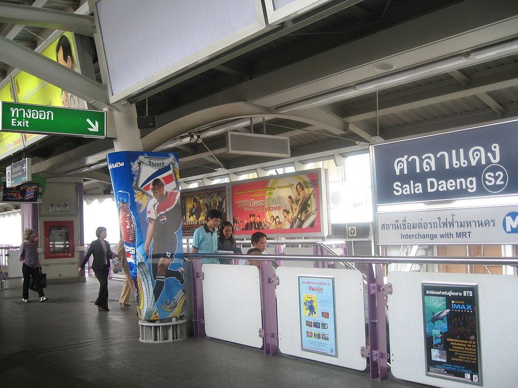 Sala Daeng BTS station