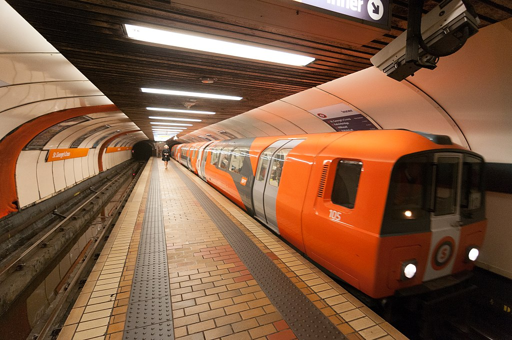 St George's Cross subway station