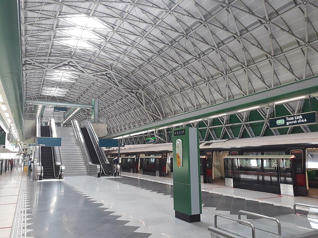 Tuas Link MRT station
