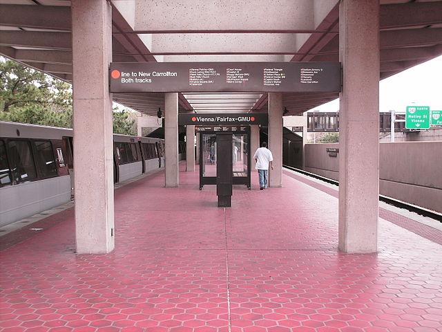 Vienna/Fairfax–GMU station