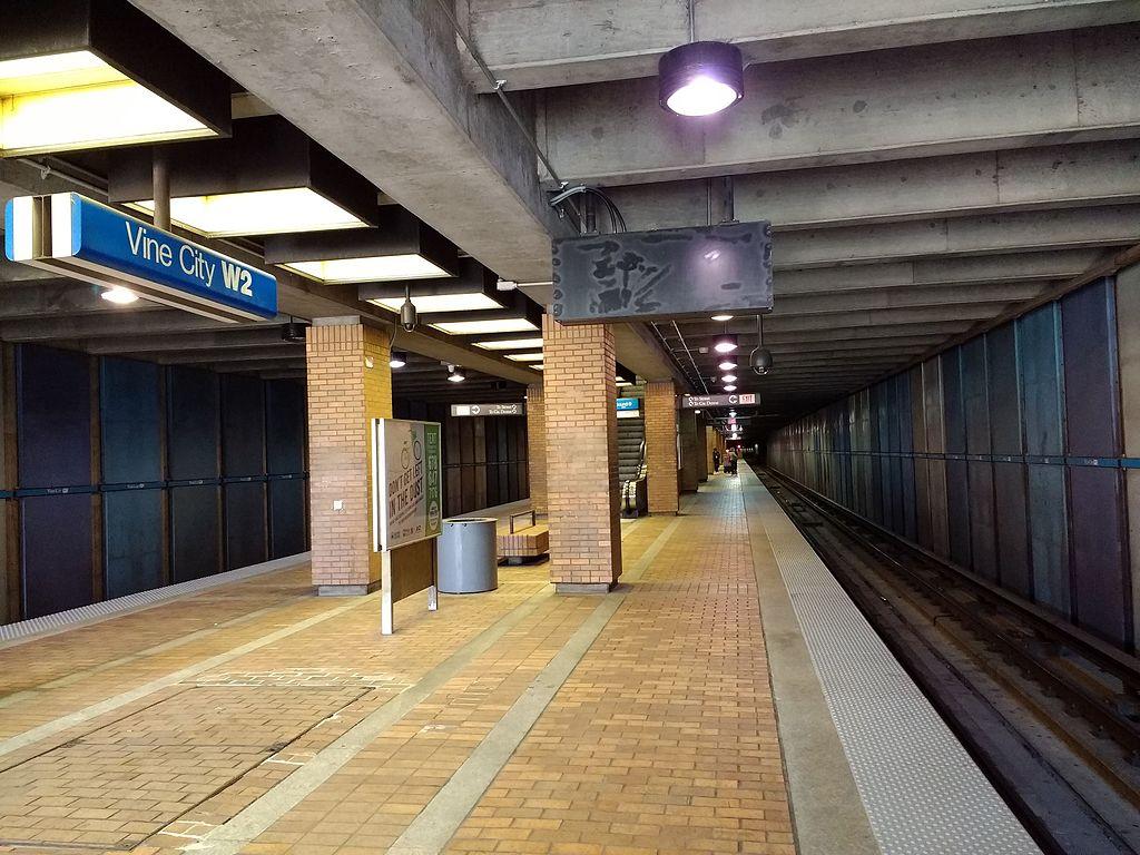 Vine City station