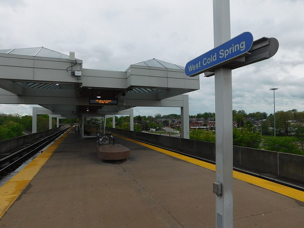 West Cold Spring station