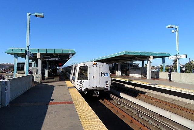 West Oakland station