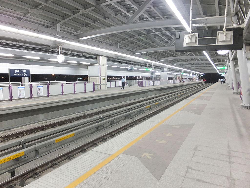 Wutthakat BTS station