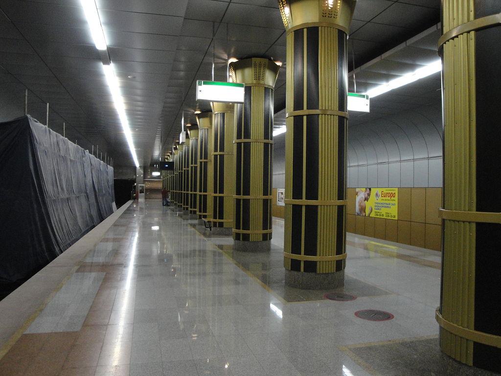 Zolotaya Niva station