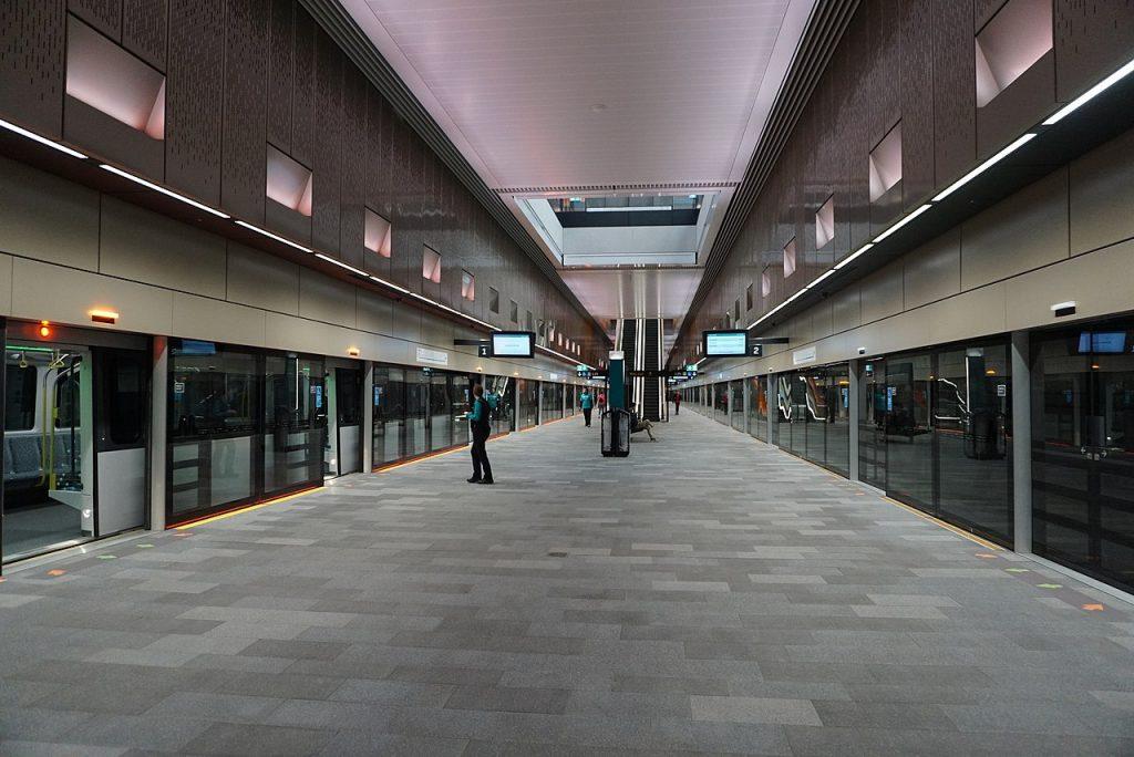 Castle Hill Station Platform